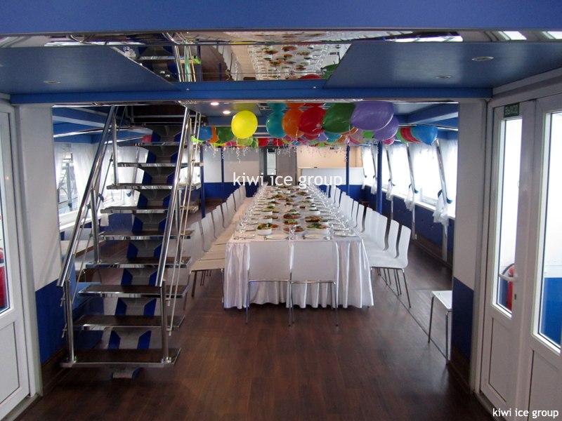 свадебный банкет на корабле